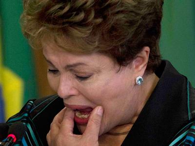 El llanto de Dilma les lava la cara a los asesinos de la dictadura militar