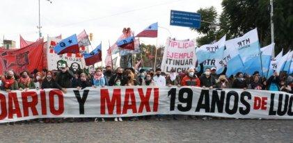 A 19 años de la Masacre de Avellaneda ¡Dario y Maxi presentes!