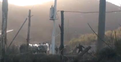 Continúa el hostigamiento policial a las familias asentadas en el Cerro Otto
