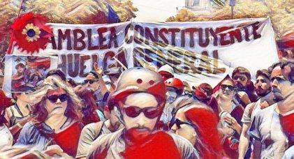 Comenzó la campaña en los medios por el plebiscito constituyente en Chile