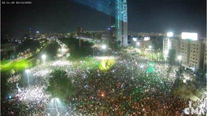 Primeros resultados muestran contundente votación por una nueva Constitución en Chile