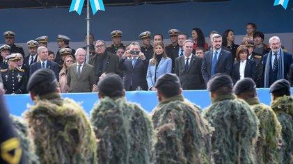 9 de Julio: desfile militar y nuevos proyectos del Gobierno para las Fuerzas Armadas