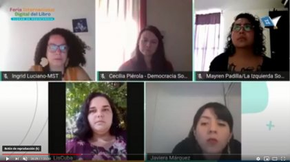 Debate Trotsky, trotskismo y el rol de la mujer en la Feria del Libro de Chaco