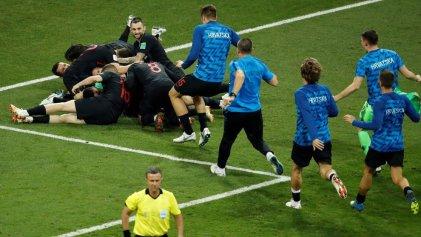 Croacia eliminó a Rusia de su Mundial y va por Inglaterra
