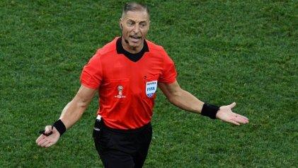 Un argentino en la final del Mundial: Néstor Pitana, árbitro de Francia-Croacia