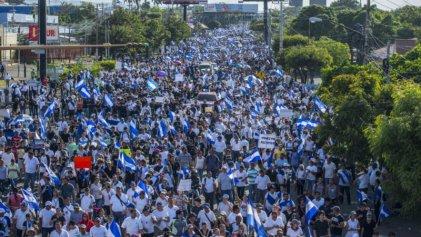 Nicaragua: masiva movilización por la libertad de los presos políticos del régimen de Ortega