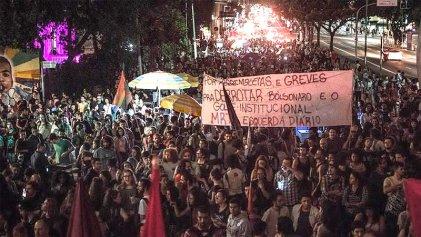 """Brasil: """"Tenemos que construir comités contra Bolsonaro en todo el país"""""""