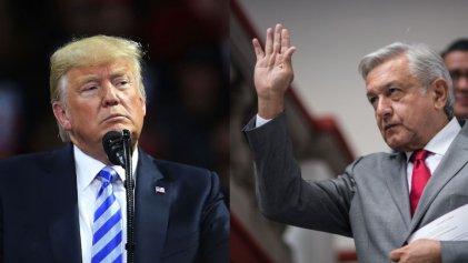 Trump y López Obrador discuten plan para que México sea el freno de migrantes