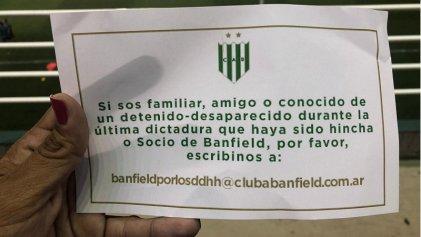 Banfield hace memoria: quieren restituir como socios a detenidos desaparecidos durante la dictadura