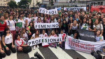 Un primer paso: la AFA anunció el inicio del #FútbolFemeninoProfesional