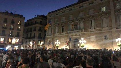 Concentraciones en toda Catalunya por la libertad de los detenidos y contra la represión