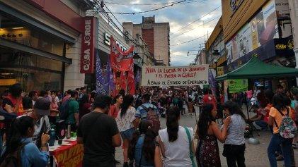 Acto internacionalista en Jujuy en apoyo al pueblo de Chile