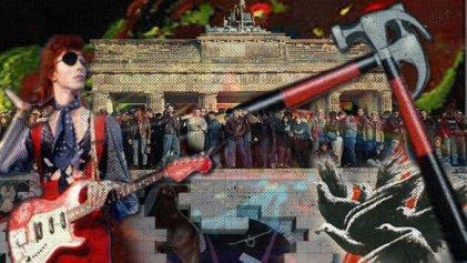 La música entre los ladrillos del muro de Berlín