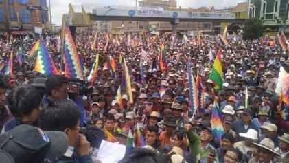 Bolivia: el bloqueo llama