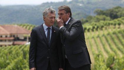Macri se despidió del Mercosur entre guiños y risas con Bolsonaro