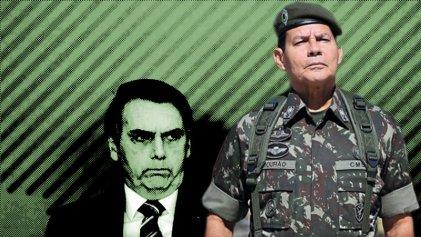 Bolsonaro envía a su vice militar a la asunción de Fernández