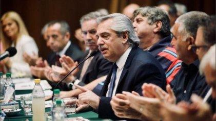 Plan automotor: Alberto Fernández con el Smata, que se suma al pacto social