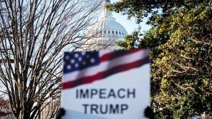 La mayoría de la Cámara de Representantes aprobó el impeachment contra Trump