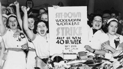 Chicas de armas tomar: la huelga de Woolworth de 1937