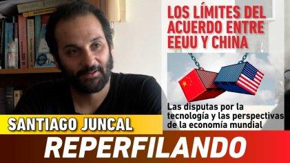 [Video] Entrevista a Santiago Juncal: los límites del acuerdo entre EE. UU. y China