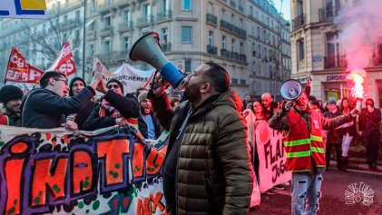 Cómo surgió la coordinadora de huelguistas que paralizó el transporte contra Macron