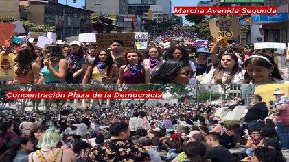 8M en Costa Rica: miles se movilizan por el derecho al aborto y contra la violencia patriarcal