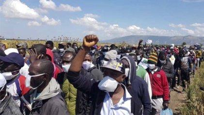 """Huelga de los trabajadores migrantes del campo en Italia: """"No somos carne de matadero"""""""