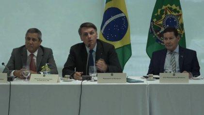El video de la reunión de gabinete de Bolsonaro desató un nuevo escándalo