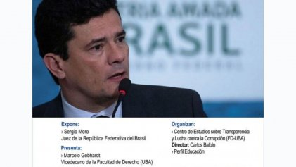 Derecho UBA: ante el repudio suspenden charla con el golpista Sergio Moro