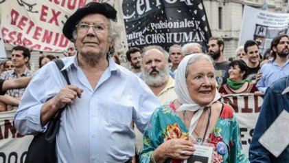 Nora Cortiñas y Pérez Esquivel se suman al reclamo de justicia por Luis Espinoza y Ceferino Nadal