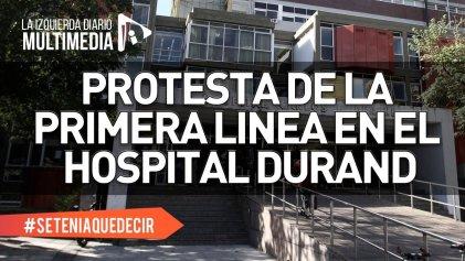 """Niegan licencias a personal de riesgo en Hospital Durand: """"Nadie elige morir"""""""