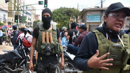 Repudio a violencia paramilitar en Cochabamba