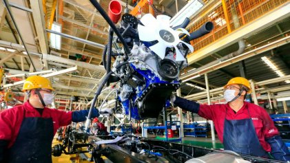 La industria cayó 7,9% en julio, pese a la apertura de más actividades