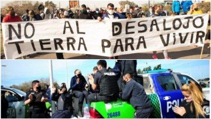 Estatales del Ministerio de Trabajo ante las acciones policiales y la toma de tierras en Guernica