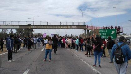 Cortan Ruta 66 en Palpalá por la aparición de Iara Sabrina Rueda