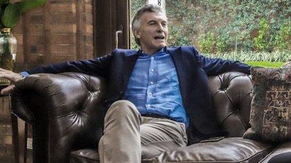"Reapareció Macri: ""Yo podía contar lo que pasaba o expresar optimismo, elegí lo segundo"""