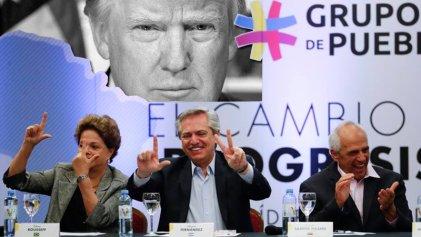 El Grupo de Puebla apoya la capitulación de Alberto Fernández al Grupo de Lima