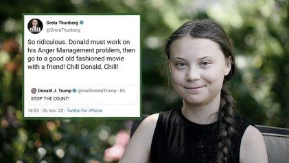"""La revancha de Greta Thunberg: """"Donald debe trabajar en su problema de ira"""""""