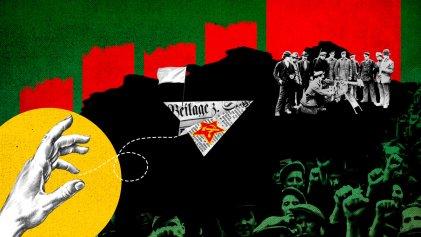 La revolución alemana, un debate durante la Segunda Guerra Mundial entre los trotskistas