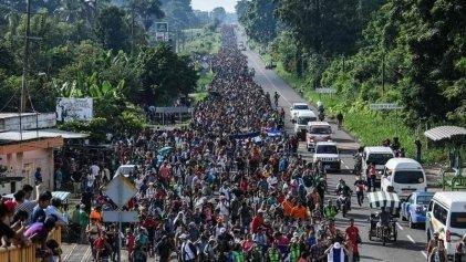¡Solidaridad con la caravana migrante! ¡Alto a las políticas represivas impuestas por EE.UU.!