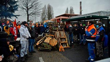 Francia: la lucha testigo de los petroleros de Grandpuits y sus protagonistas