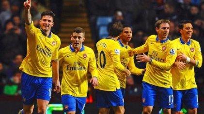 Aston Villa 0 - Arsenal 3
