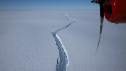 Un nacimiento muy esperado: A74, el enorme iceberg que se desprendió en la Antártida