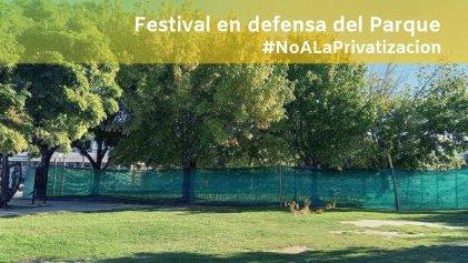 """Festival en Berisso: """"Vamos a defender el parque que el municipio pretende privatizar"""""""