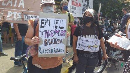 Asamblea docente en La Plata votó paro de 48 hs y movilización