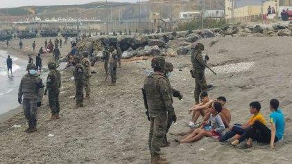 ¡Fuera el Ejército de Ceuta y las deportaciones! La juventud contra el imperialismo español