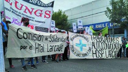 Hospital Larcade: un balance necesario para retomar la lucha y organización