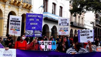 En Salta movilizaron por justicia para el joven trans Santiago Cancinos