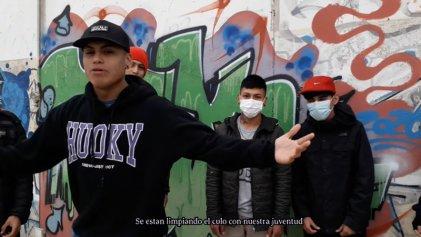 """TRZ, rapero de Puerto Madryn: """"Es lo que sale del alma"""""""