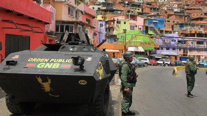 Violentas operaciones militares en barrios pobres de Caracas